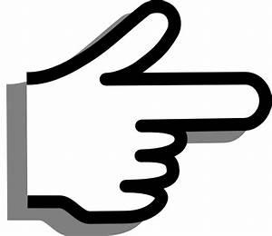Finger Pointing Clip Art at Clker.com - vector clip art ...