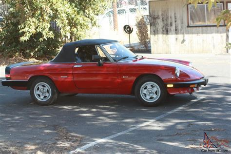 The Graduate Alfa Romeo by 1985 Alfa Romeo Spider Alfa Romeo Spider The Graduate
