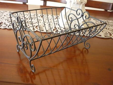 shabby chic dish rack shabby chic french provincial brn blk wrought iron dish rack large inspiration for new home