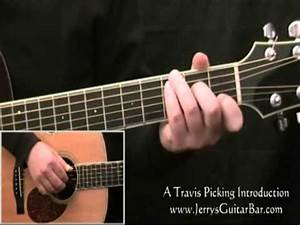 Travis Picking A Beginner U0026 39 S Fingerpicking Guitar Lesson