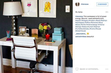 bureau fait maison instagram une tonne d idées pour un joli bureau cocon