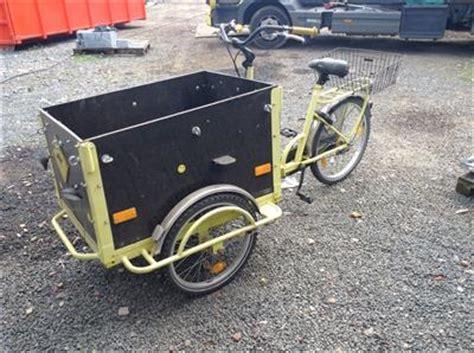 fahrrad baeckerfahrrad postrad lastendreirad dreirad