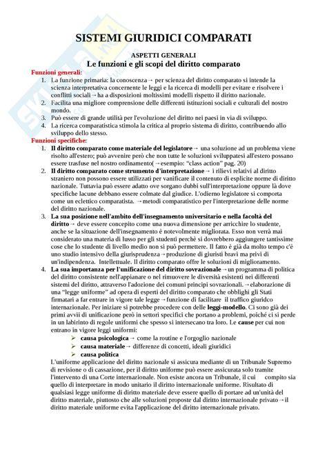 dispensa diritto privato schema appunti di diritto privato comparato