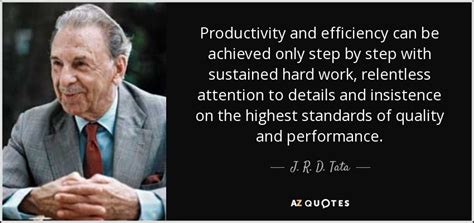 tata quote productivity  efficiency