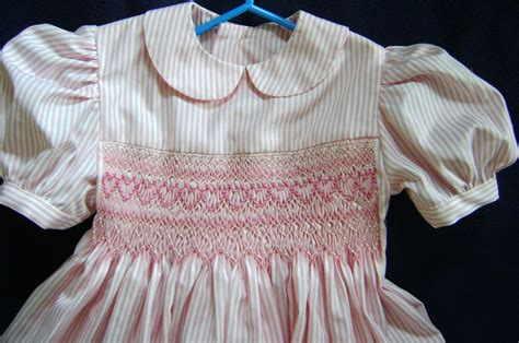 Children's Smocked Clothing