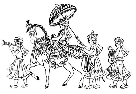indian wedding outline images wedding ideas