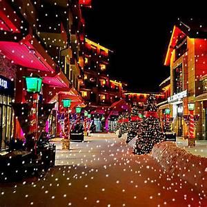 Christmas, Snow, Falling, Led, Projector, Light
