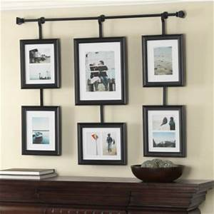 Wall collage picture frames furniture design ideas for Interior design wall of frames