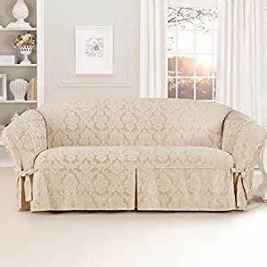 amazon com sure fit middleton sofa slipcover chagne