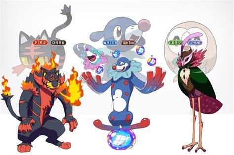 pokemon soleil  lune ils ont imagine les evolutions des starters