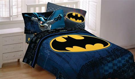 New Batman Dc Comic Twin Size Bed Comforter Sheet Set Bed