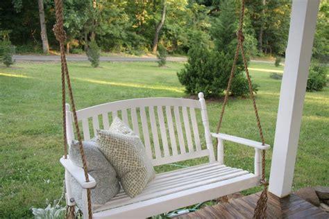cass house porch swing