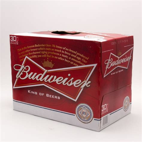 how much does a 12 pack of bud light cost budweiser 12oz can 30 pack wine and