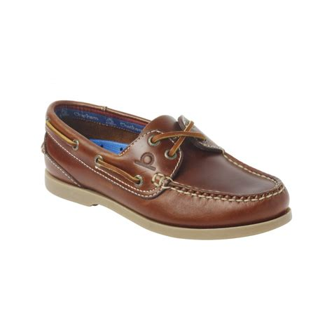 Leather Boat Shoes by Deck Womens High Grade Leather Boat Shoe Womens