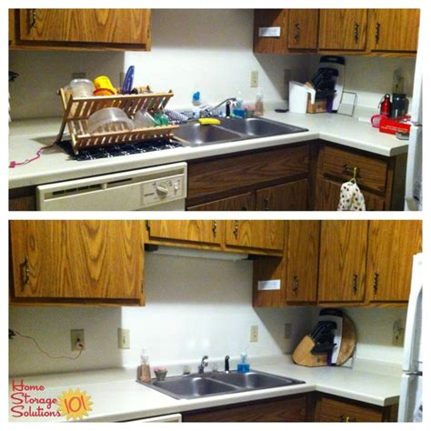 kitchen sink area how to declutter your kitchen sink area 2563