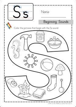 s phonics worksheet phonics letter of the week s dr who preschool and