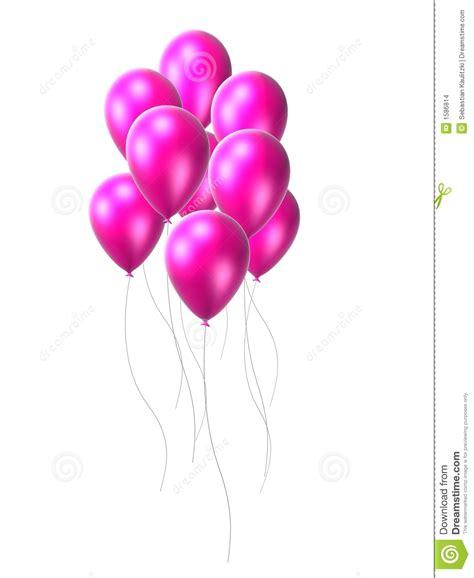 10 x 18 rug roze ballon stock illustratie afbeelding bestaande uit
