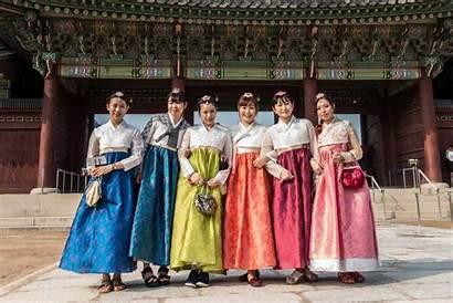 Traditional Korea Korean Seoul Palace Young Gyeongbokgung