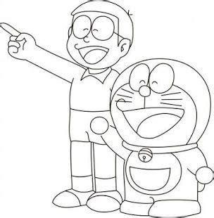 cartoon drawing sketch doraemon characters