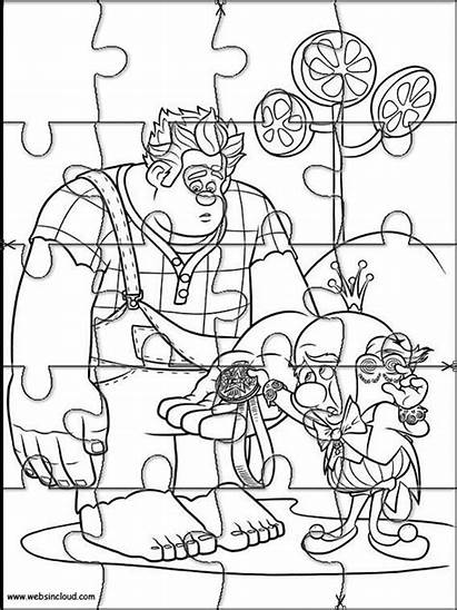 Rompecabezas Imprimir Puzzles Colorear Coloring Dibujos Rompe