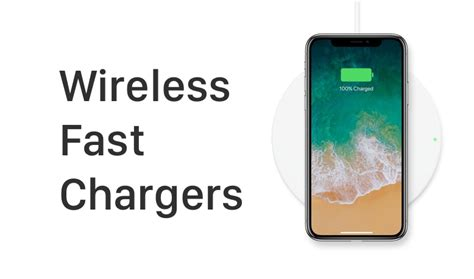 iphone x iphone 8 wireless chargers that support 7 5 watt fast charging list
