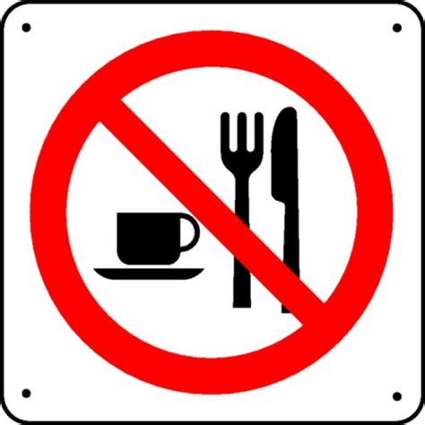 sol bureau panneau interdiction de manger picto stocksignes
