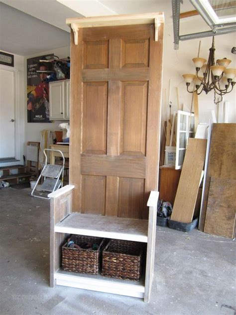 diy door entry bench  owner builder network