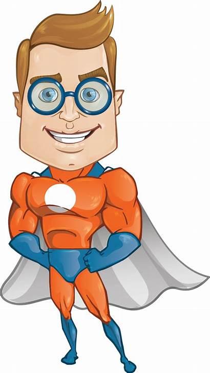 Superhero Clipart Clip Super Cartoon Superheroes Female