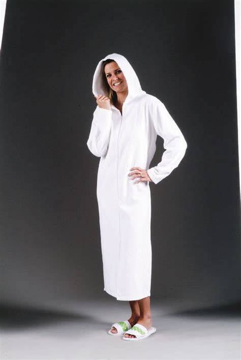 womens hooded terry cloth robe coverup classic personalized gifts