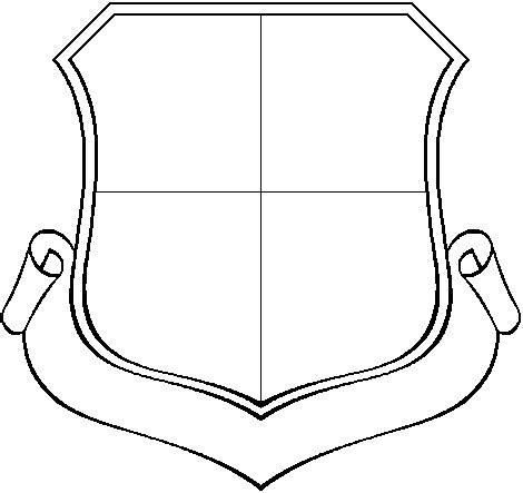 patch template shield template clipart best