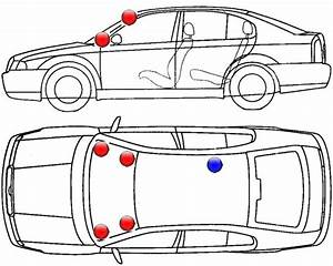 Antenna Placement Inside Car   Tx Legends