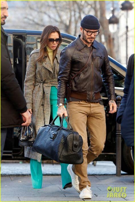 david victoria beckham   stylish couple  paris