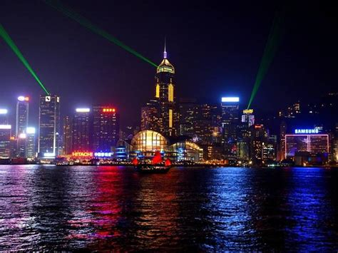 victoria harbour cruise  attractions  central hong kong