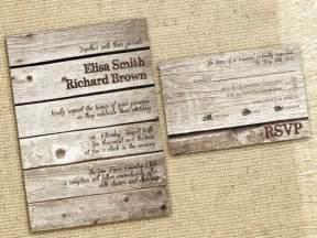 cheap rustic wedding invitations rustic wedding invitations cheap wedding decoration ideas pintere
