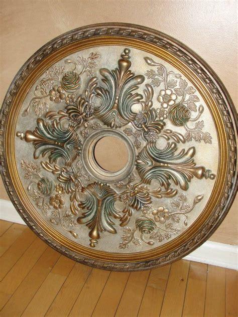 custom painted ceiling medallion kelliescreationscom