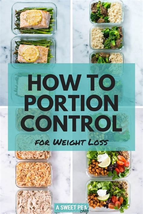How To Portion Control For Weight Loss Without Starving