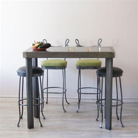 fabriquer table haute cuisine fabriquer une table haute meilleures images d