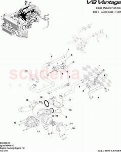 Aston Martin V8 Vantage Engine Cooling  Engine Fit  Parts