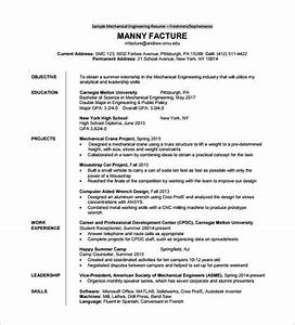 Resume Template For Fresher  U2013 10  Free Word  Excel  Pdf