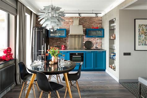 Trendy And Timeless Kitchens With Beautiful Brick Walls