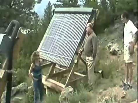 Diy Homemade Solar Energy Hot Water System Youtube