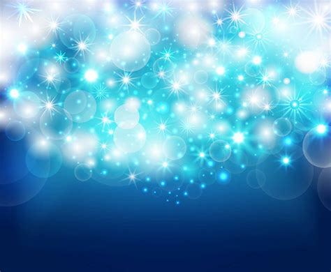 sparkle blue background vector vector art graphics
