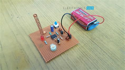 Simple Mobile Jammer Circuit How Cell Phone Works