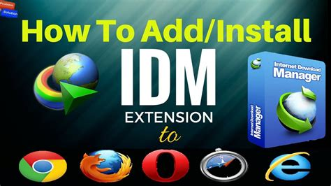 And to integrate idm to chrome, mozilla or opera, idm extension is required. How To Install/Integrate IDM Extension On Opera and ...