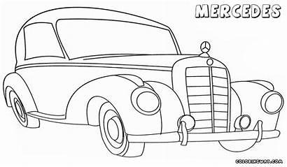 Mercedes Coloring Colorings