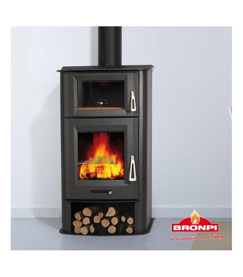Poele A Bois Avec Four by Tudela 13 Kw Well Being