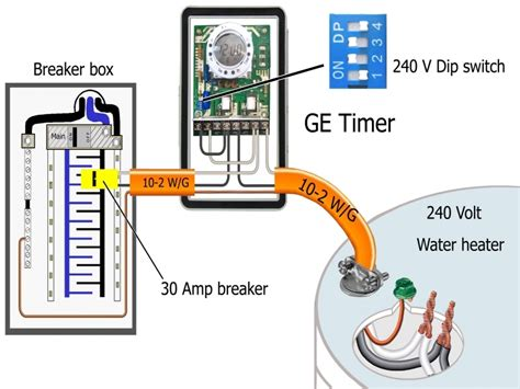 Wiring Diagram Water Heater Timer by How To Wire Ge 15136 Timer Wiring Forums