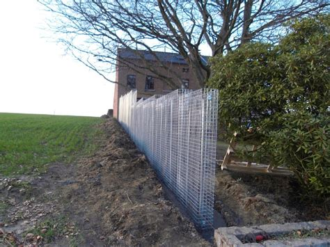 confection d un mur en gabions