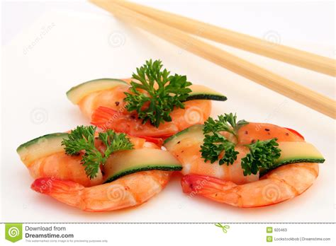 gourmet cuisine gourmet food broiled king tiger prawns on white