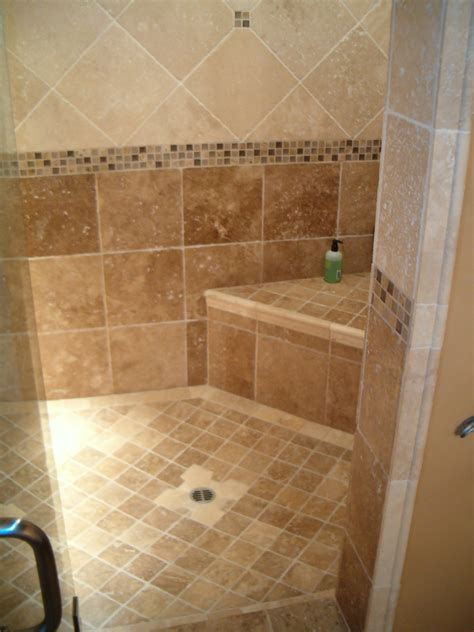 ideas for bathroom tiling bathroom tile ideas photos the finished shower is sealed